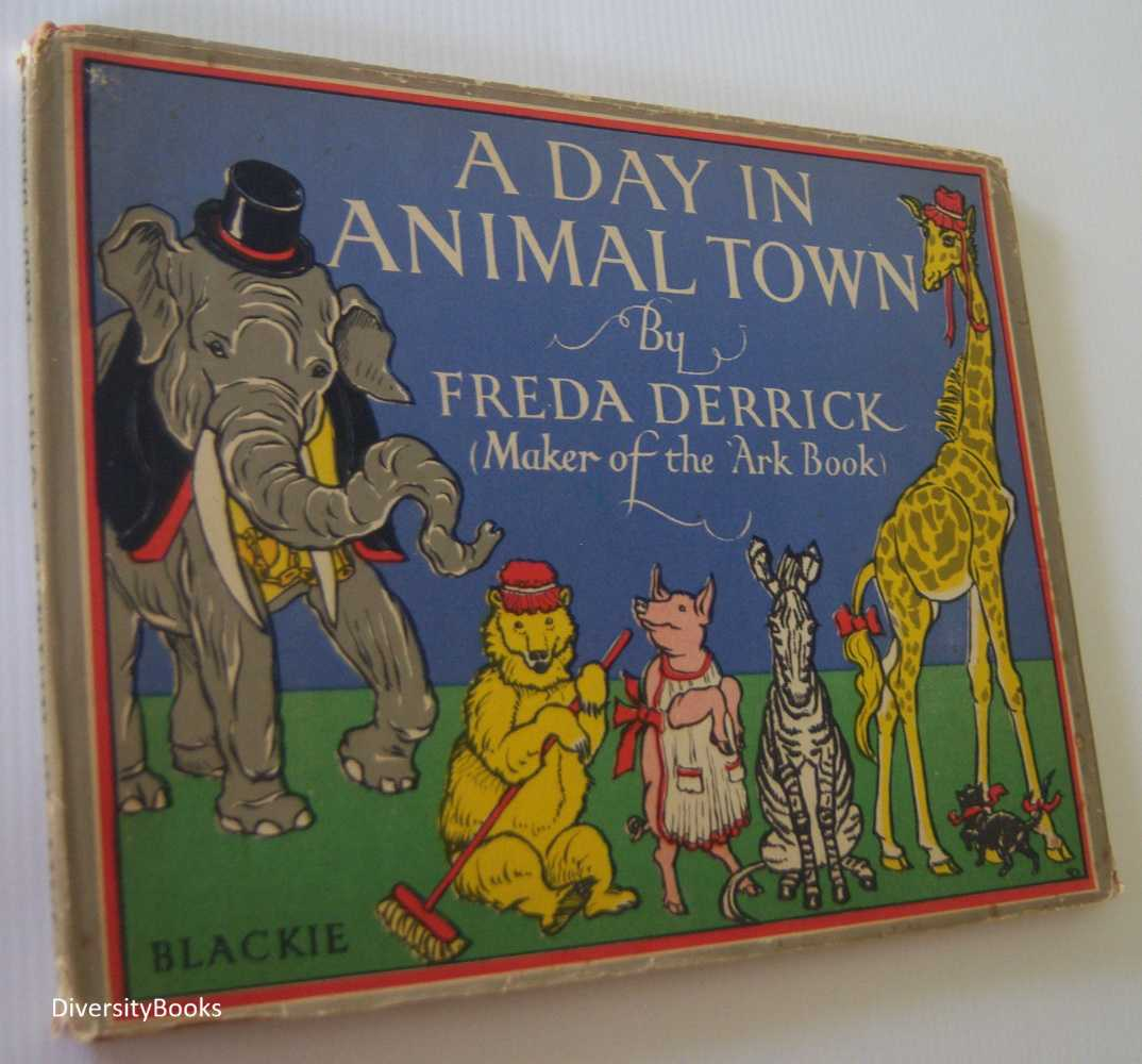 Image for A DAY IN ANIMAL TOWN