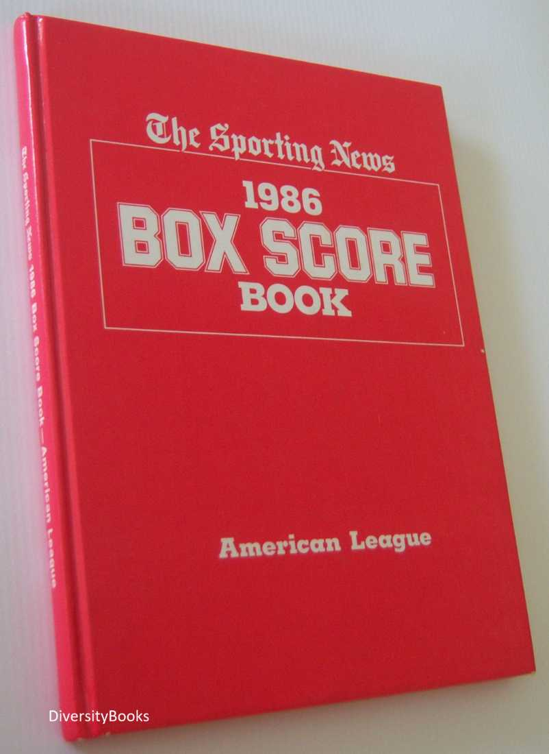 Image for 1986 BOX SCORE BOOK American League