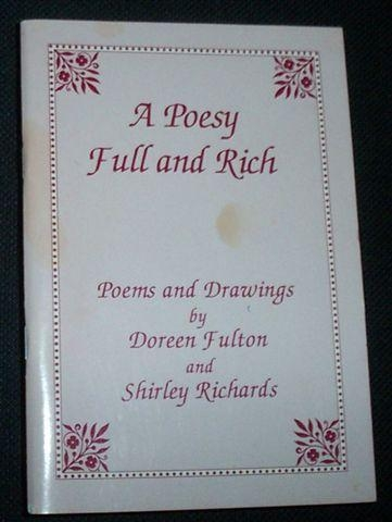 Image for A POESY FULL AND RICH     (Signed Copy)
