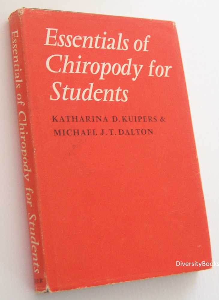 Image for ESSENTIALS OF CHIROPODY FOR STUDENTS