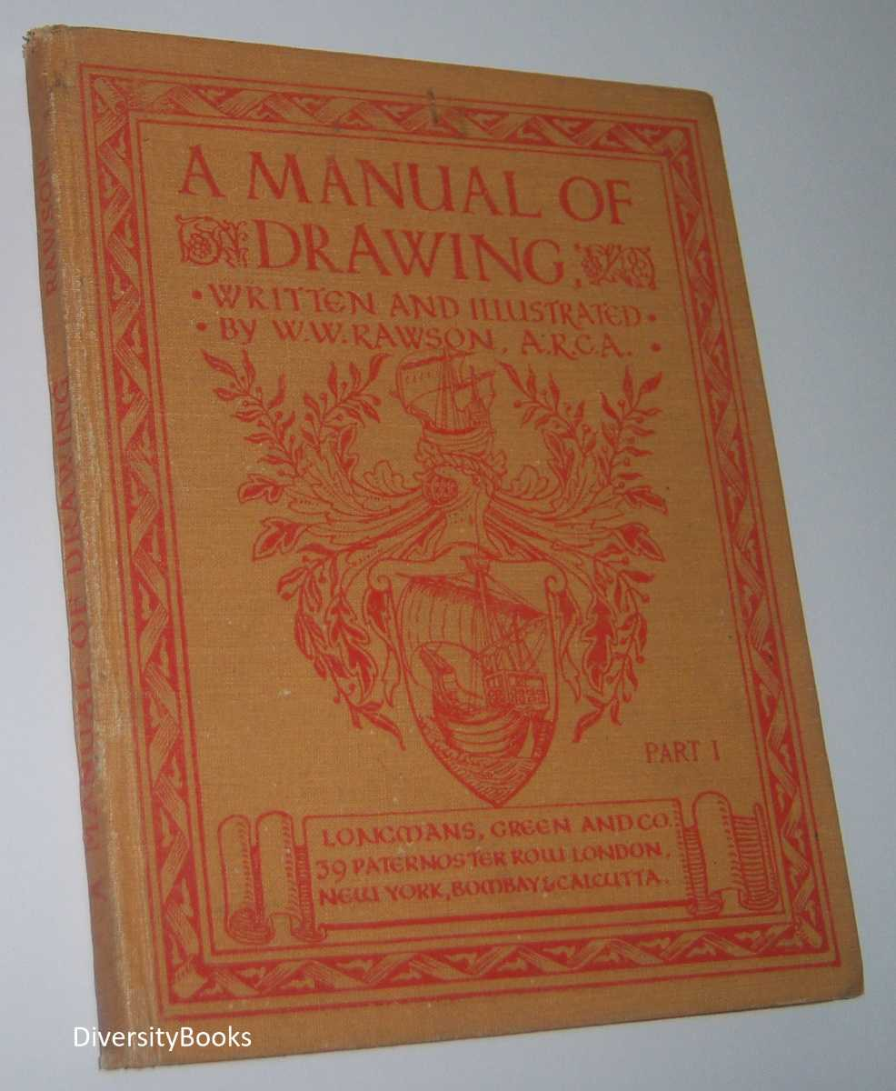 Image for A MANUAL OF DRAWING. Part 1