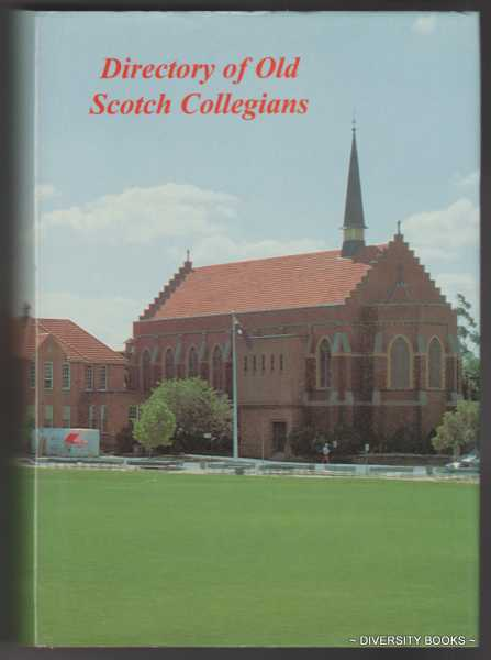 Image for DIRECTORY OF OLD SCOTCH COLLEGIANS
