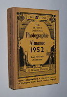 Image for THE BRITISH JOURNAL PHOTOGRAPHIC ALMANAC AND PHOTOGRAPHER'S DAILY COMPANION 1952