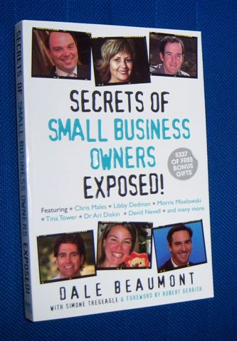 Image for SECRETS OF SMALL BUSINESS OWNERS EXPOSED !