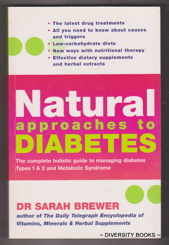 Image for NATURAL APPROACHES TO DIABETES