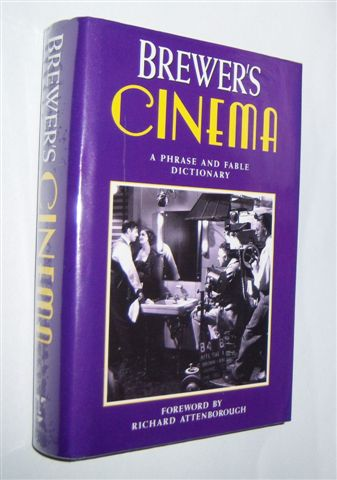 Image for BREWER'S CINEMA : A Phrase and Fable Dictionary