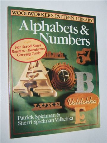 Image for ALPHABETS AND NUMBERS (Woodworker's Pattern Library)