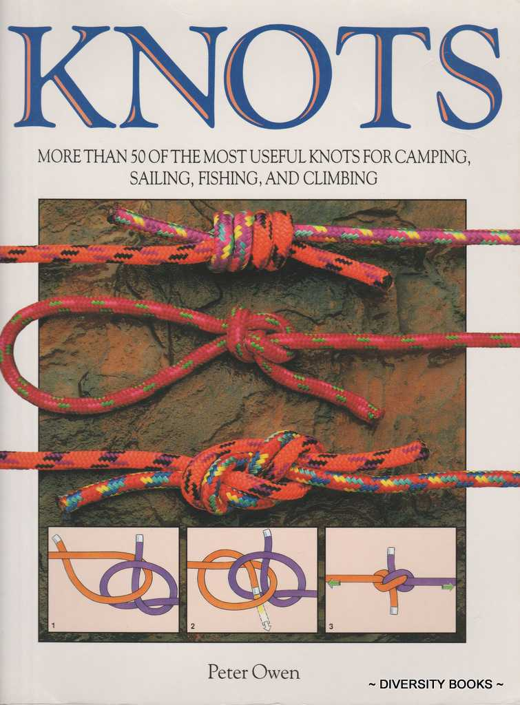 Image for KNOTS : More Than 50 of the Most Useful Knots for Camping, Sailing, Fishing and Climbing