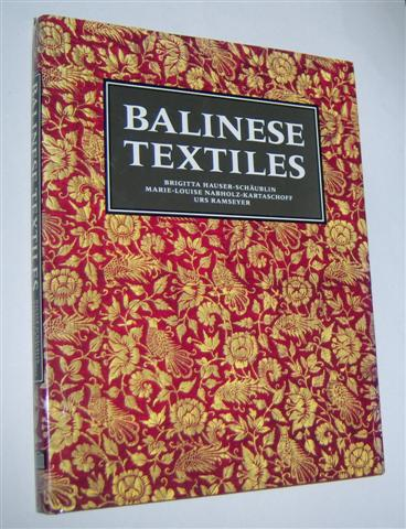 Image for BALINESE TEXTILES