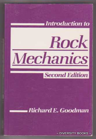 Image for INTRODUCTION TO ROCK MECHANICS. Second Edition