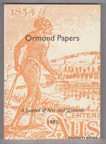 Image for ORMOND PAPERS : A Journal of Arts and Sciences. Volume 10