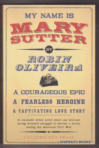 Image for MY NAME IS MARY SUTTER (Uncorrected Proof)