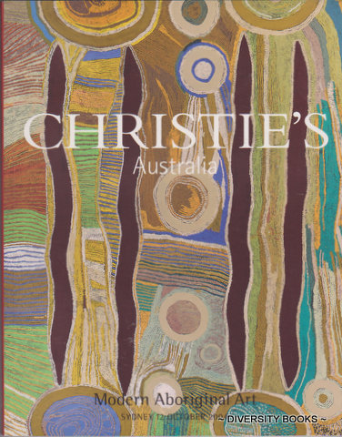 Image for MODERN ABORIGINAL ART (Christie's Australia) Auction Catalogue