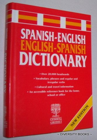 Image for SPANISH-ENGLISH, ENGLISH-SPANISH DICTIONARY