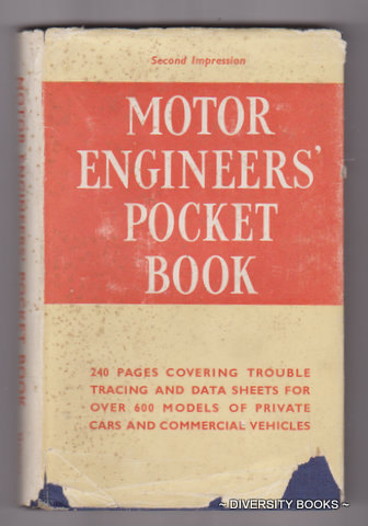 Image for MOTOR ENGINEERS' POCKET BOOK