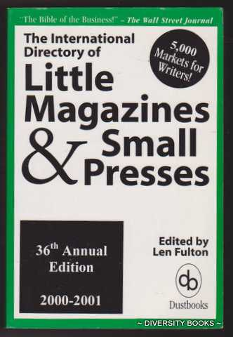 Image for THE INTERNATIONAL DIRECTORY OF LITTLE MAGAZINES & SMALL PRESSES 2000-2001