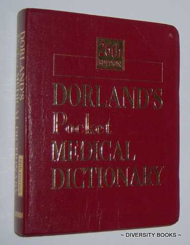 Image for DORLAND'S POCKET MEDICAL DICTIONARY (Edition 26)