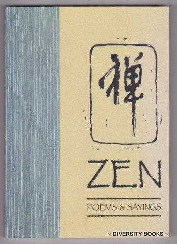 Image for ZEN POEMS AND SAYINGS