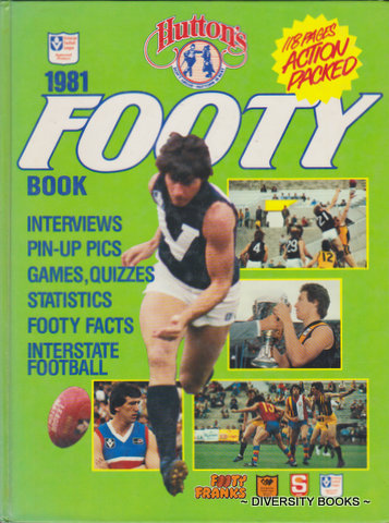 Image for HUTTON'S FOOTY BOOK 1981