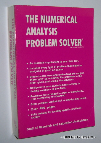 Image for THE NUMERICAL ANALYSIS PROBLEM SOLVER