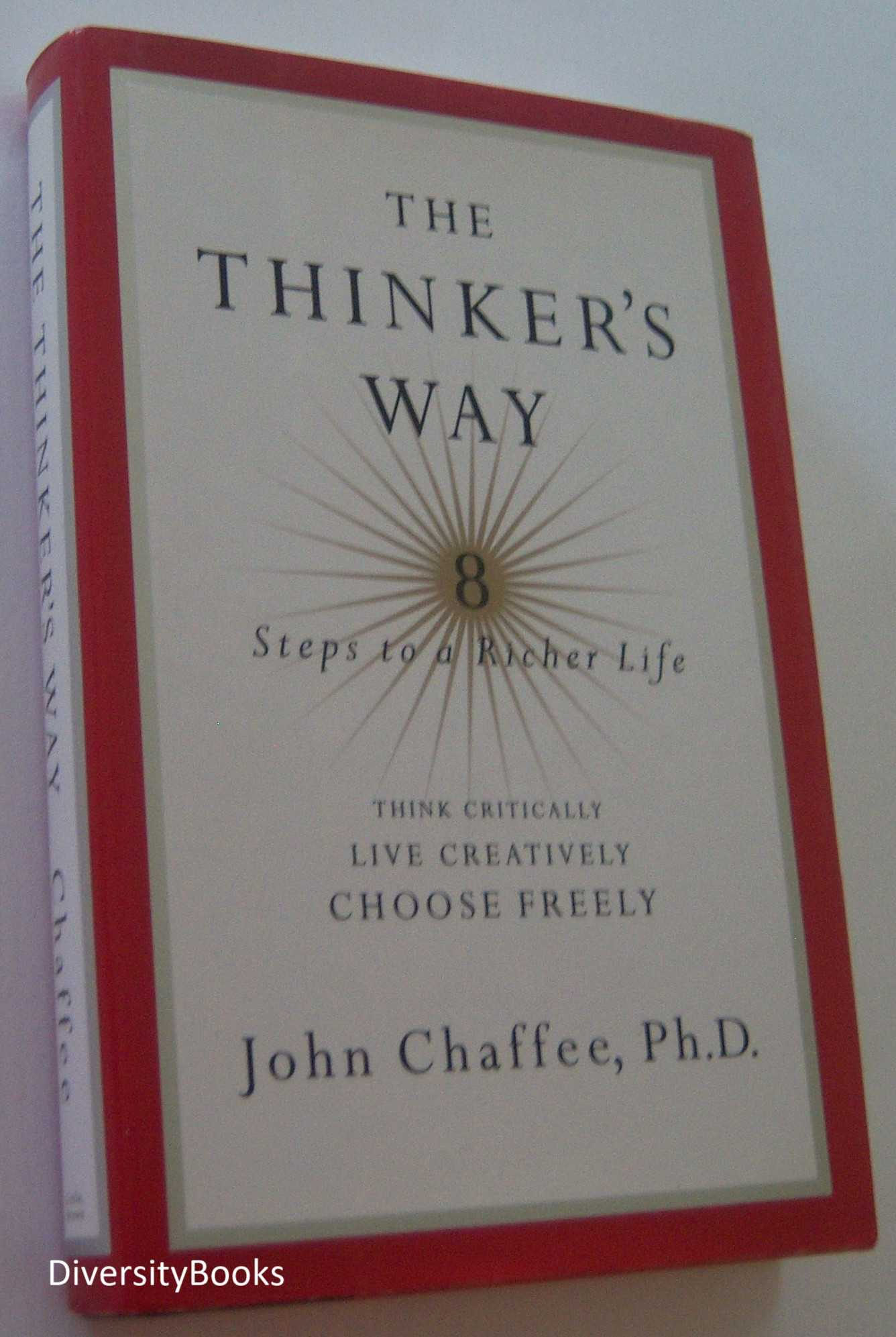 Image for THE THINKER'S WAY : 8 Steps to a Richer Life
