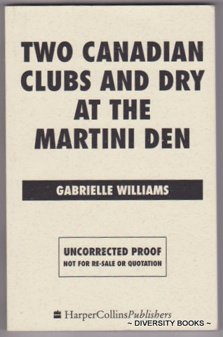 Image for TWO CANADIAN CLUBS AND DRY MARTINI AT THE MARTINI DEN