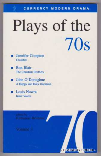 Image for PLAYS OF THE 70s (Volume 3)