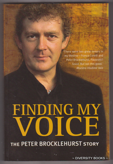 Image for FINDING MY VOICE : The Peter Brocklehurst Story