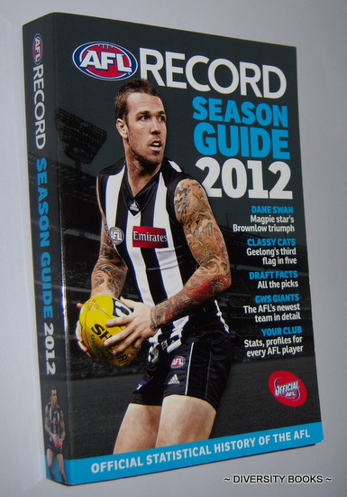 Image for AFL RECORD SEASON GUIDE 2012 : The Official Statistical History of the AFL