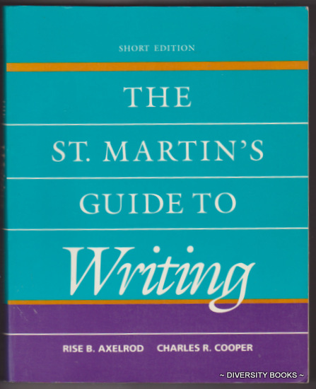 Image for THE ST. MARTIN'S GUIDE TO WRITING (Short Edition)