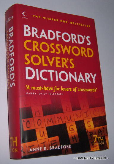 Image for BRADFORD'S CROSSWORD SOLVER'S DICTIONARY