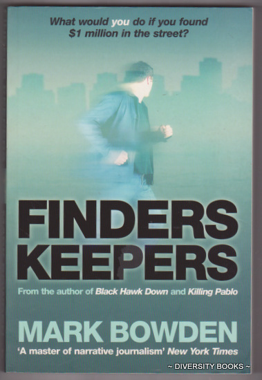 Image for FINDERS KEEPERS : What Would You Do If You Found $1 Million in the Street?