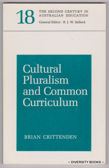 Image for CULTURAL PLURALISM AND COMMON CURRICULUM