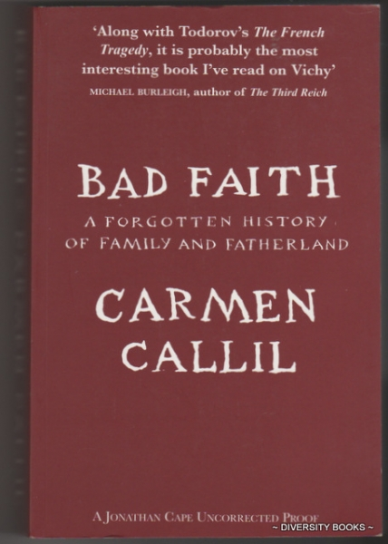 Image for BAD FAITH : A Forgotten History of Family and Fatherland