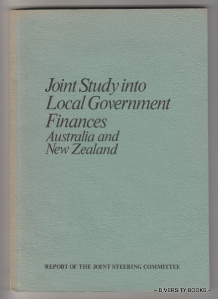 Image for JOINT STUDY INTO LOCAL GOVERNMENT FINANCES AUSTRALIA AND NEW ZEALAND. January 1976