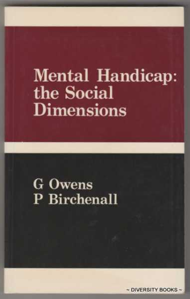 Image for MENTAL HANDICAP : The Social Dimensions