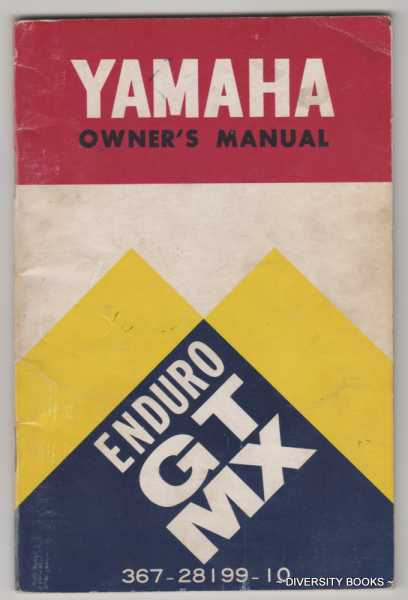 Image for YAMAHA OWNER'S MANUAL: Mini Enduro 80 GT MX