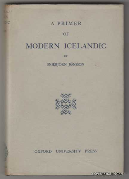 Image for A PRIMER OF MODERN ICELANDIC