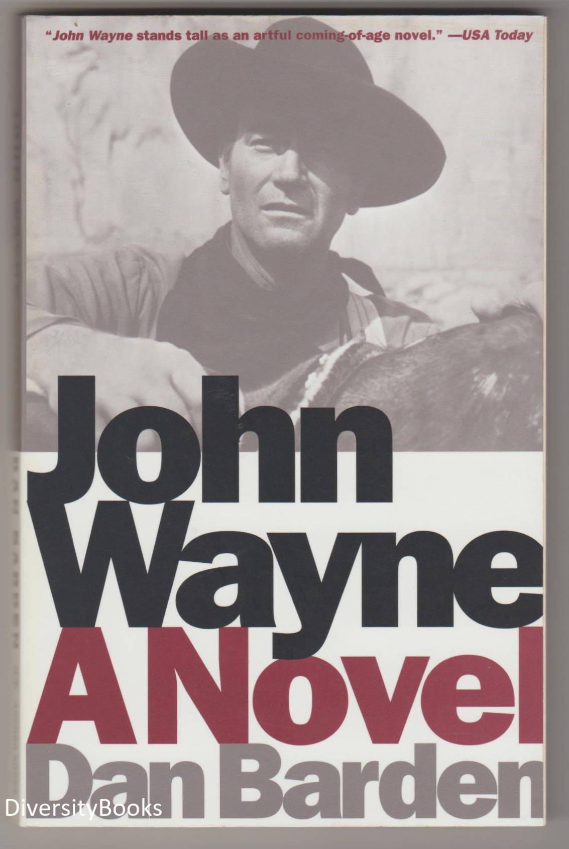 Image for JOHN WAYNE: A Novel