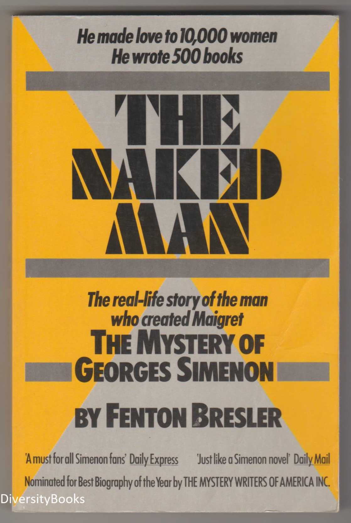 Image for THE NAKED MAN: The Mystery of Georges Simenon