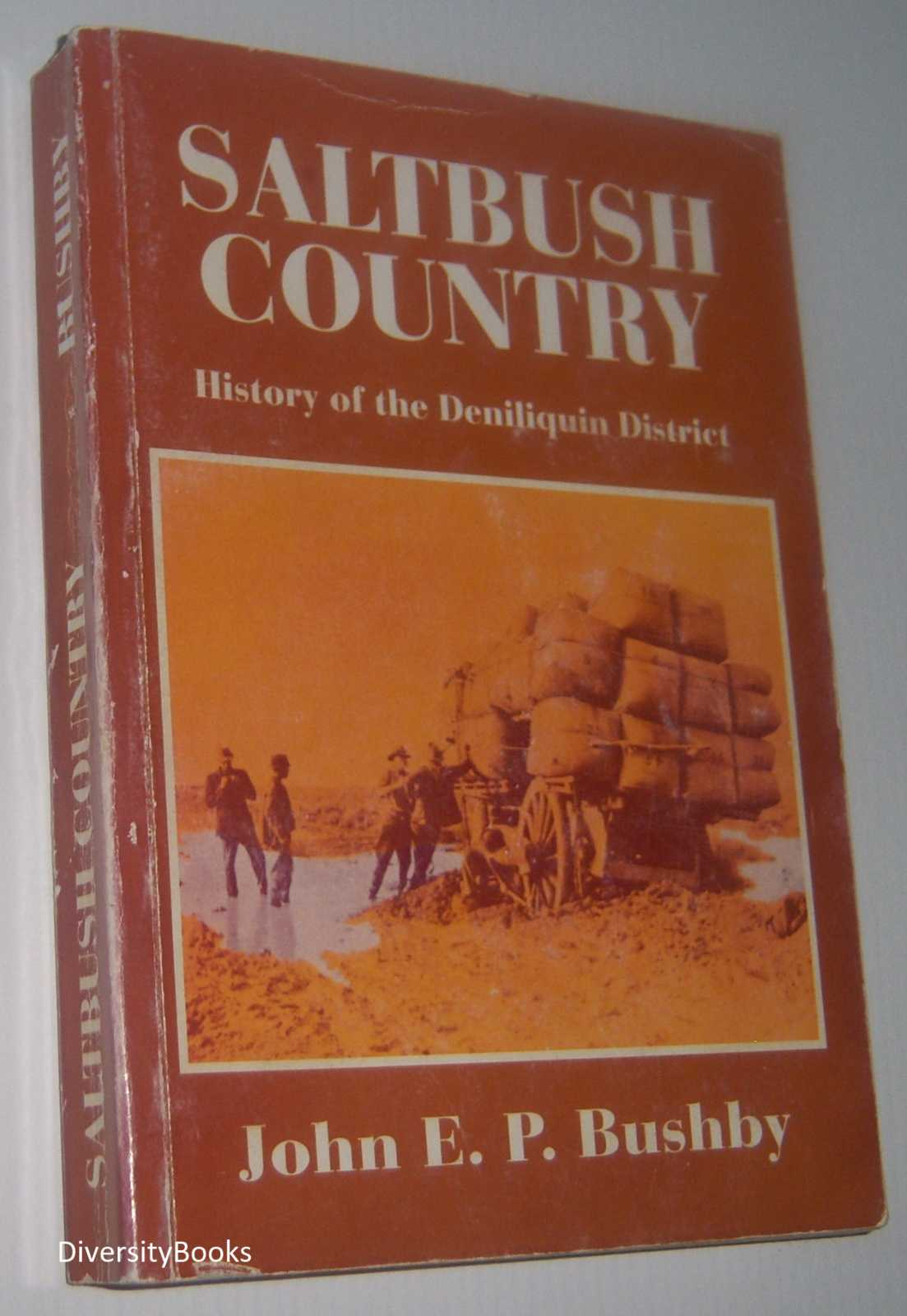 Image for SALTBUSH COUNTRY : History of the Deniliquin District