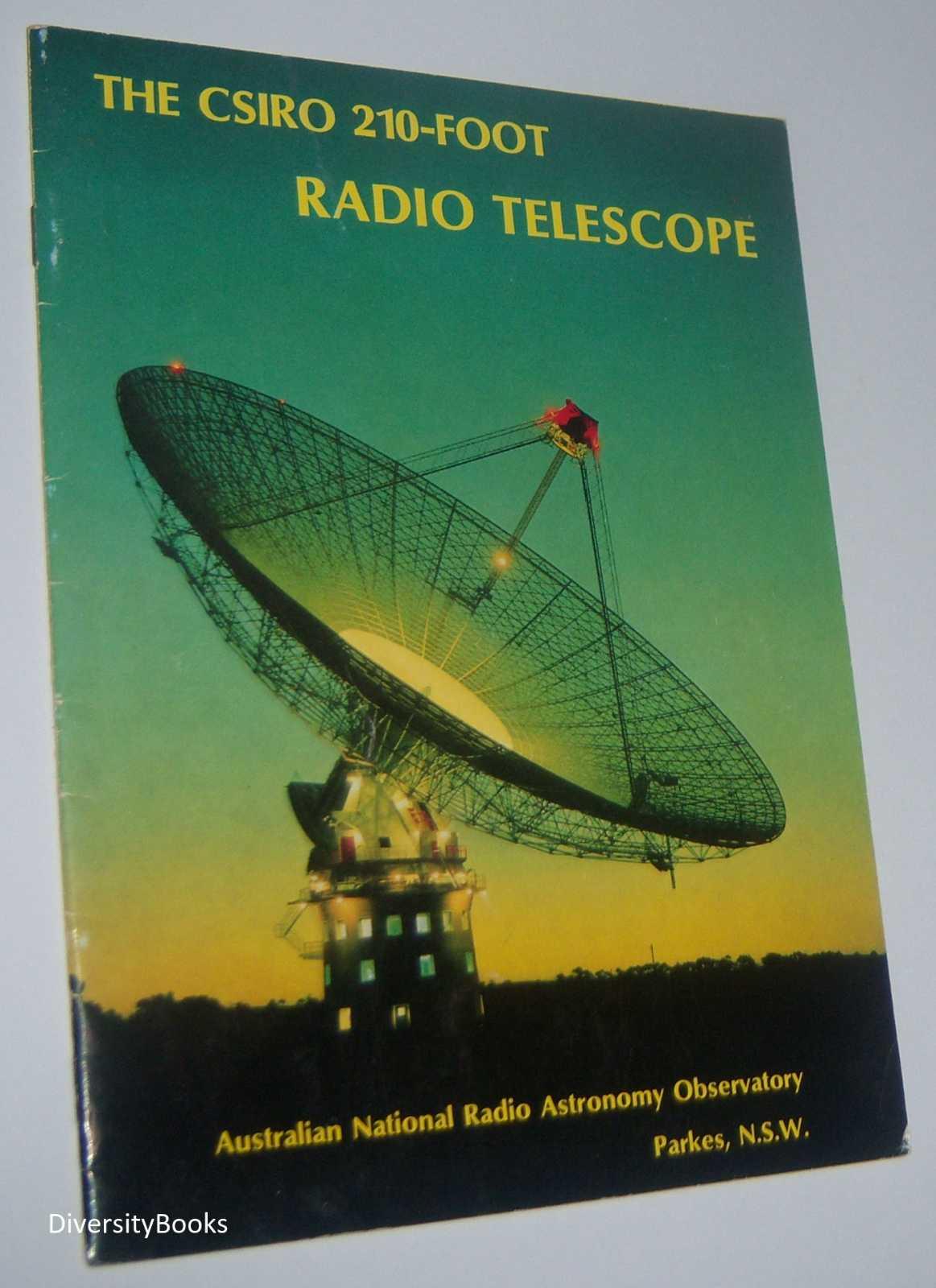 THE CSIRO 210-FOOT RADIO TELESCOPE - Australian National Radio Astronomy Observatory, Parkes, N.S.W.