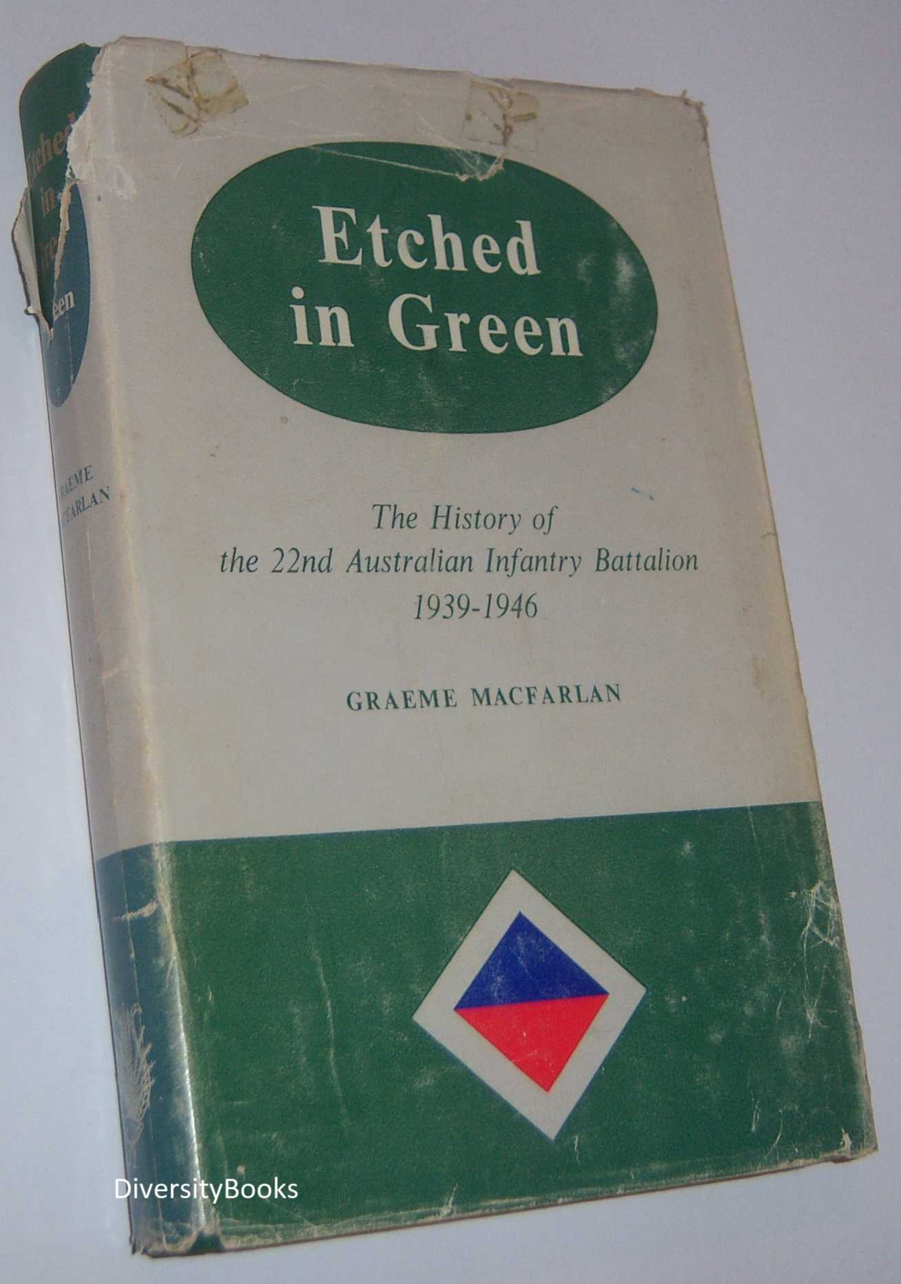 Image for ETCHED IN GREEN: The History of the 22nd Australian Infantry Battalion 1939-1946