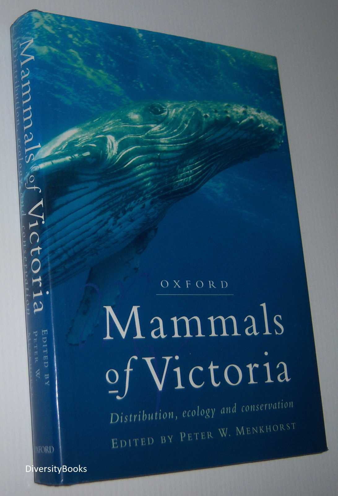 Image for MAMMALS OF VICTORIA: Distribution, Ecology and Conservation