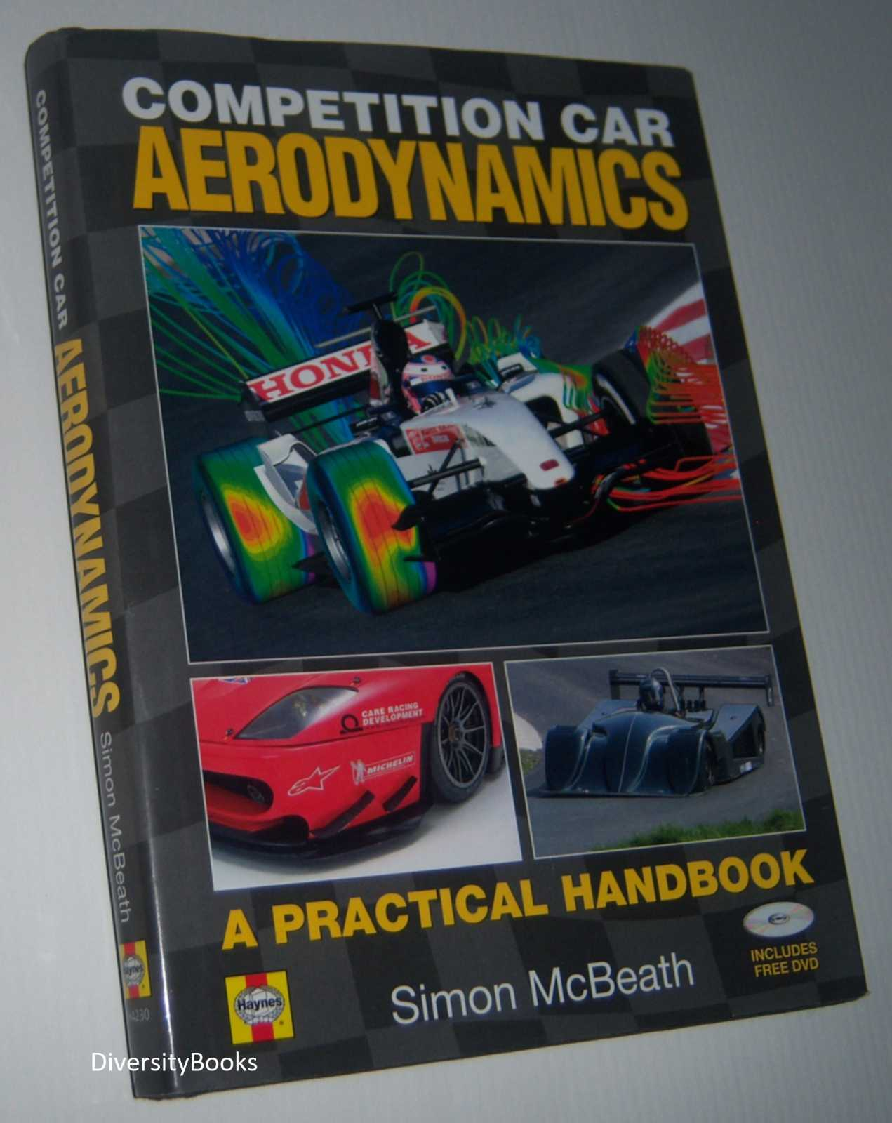 Image for COMPETITION CAR AERODYNAMICS (includes Sealed DVD - Region Not Stipulated)