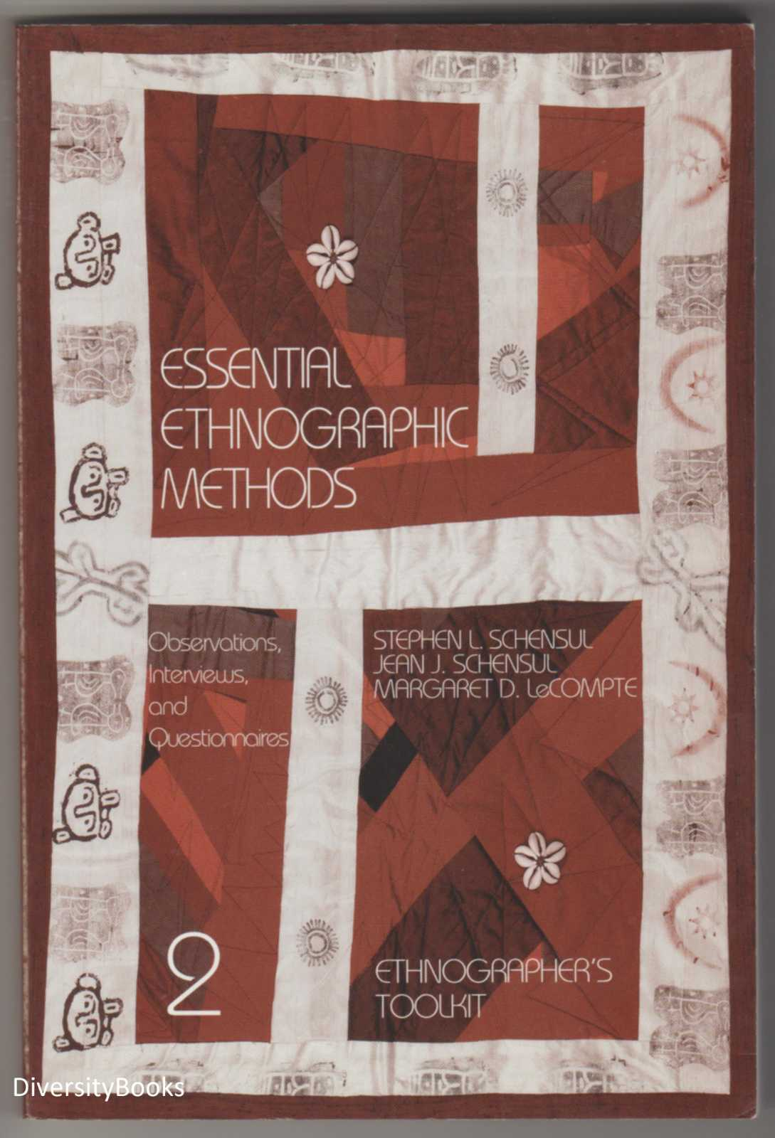 Image for ESSENTIAL ETHNOGRAPHIC METHODS: Observations, Interviews, and Questionnaires  (Ethnographer's Toolkit, Vol. 2)