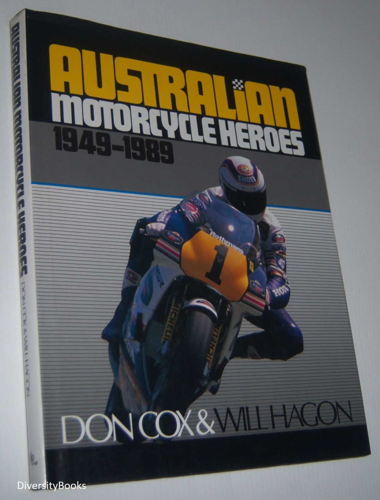 Image for AUSTRALIAN MOTORCYCLE HEROES 1949-1989