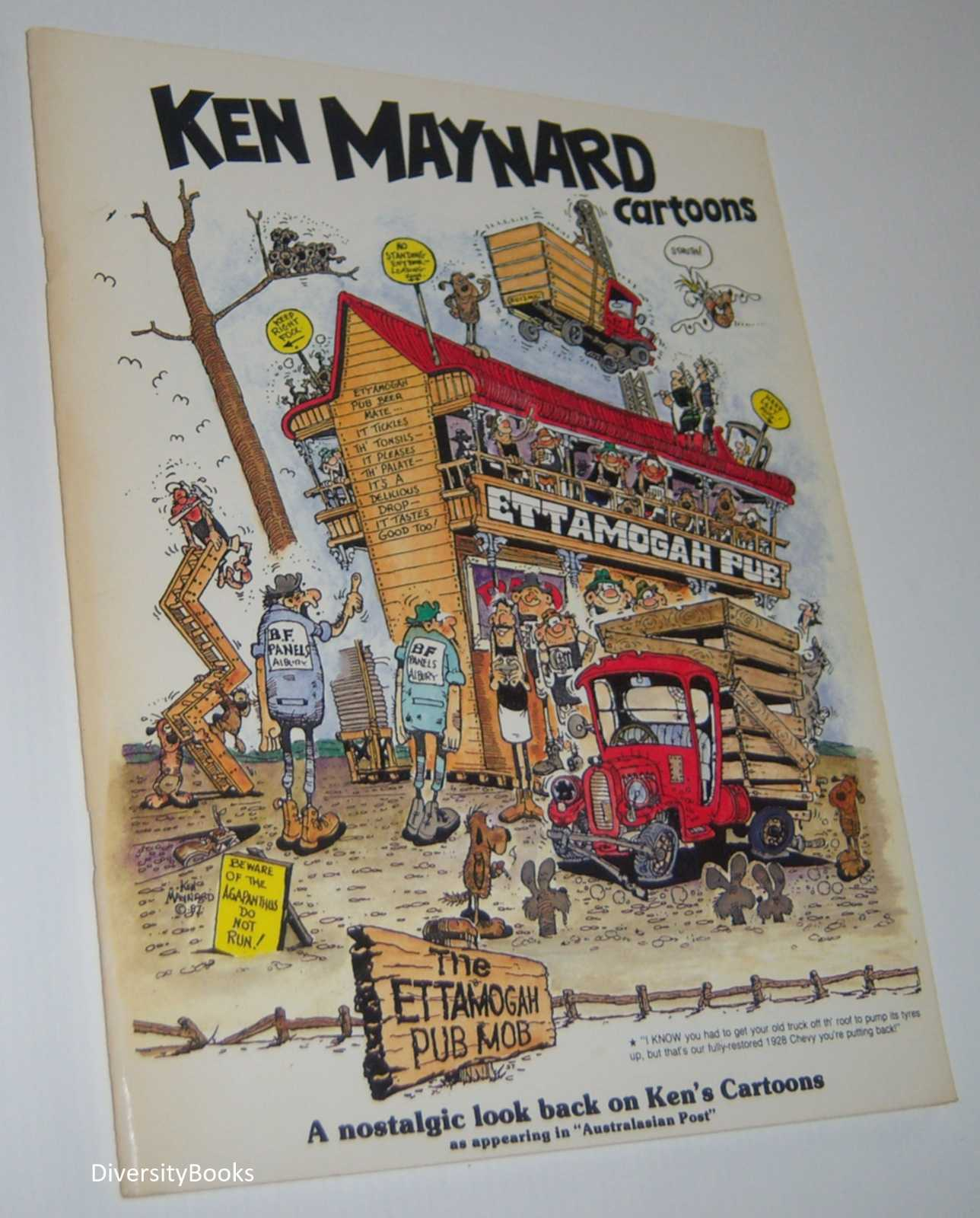 "Image for KEN MAYNARD CARTOONS. A Nostalgic Look Back on Ken's Cartoons as Appearing in ""Australasian Post"""