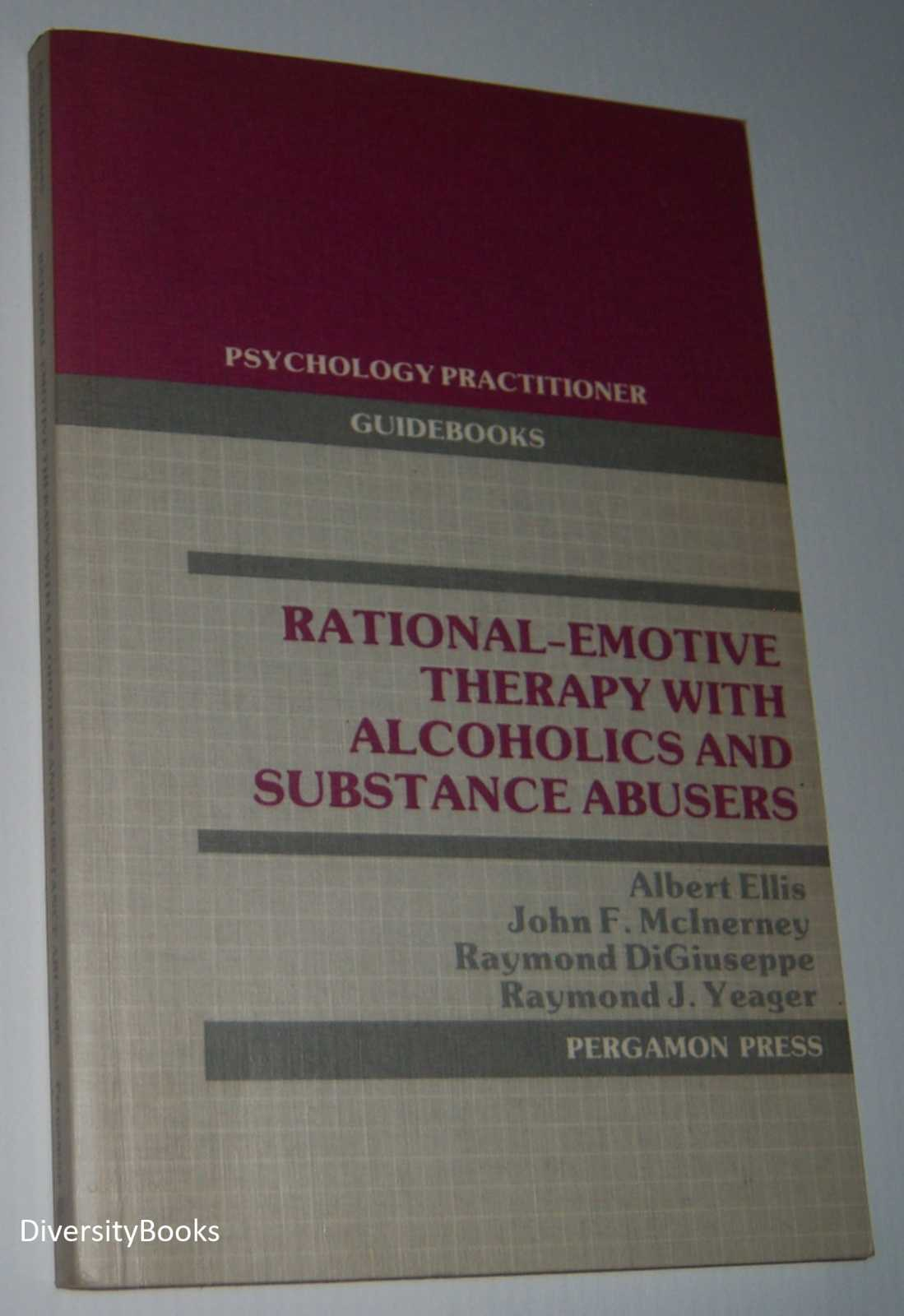 Image for RATIONAL-EMOTIVE THERAPY WITH ALCOHOLICS AND SUBSTANCE ABUSERS