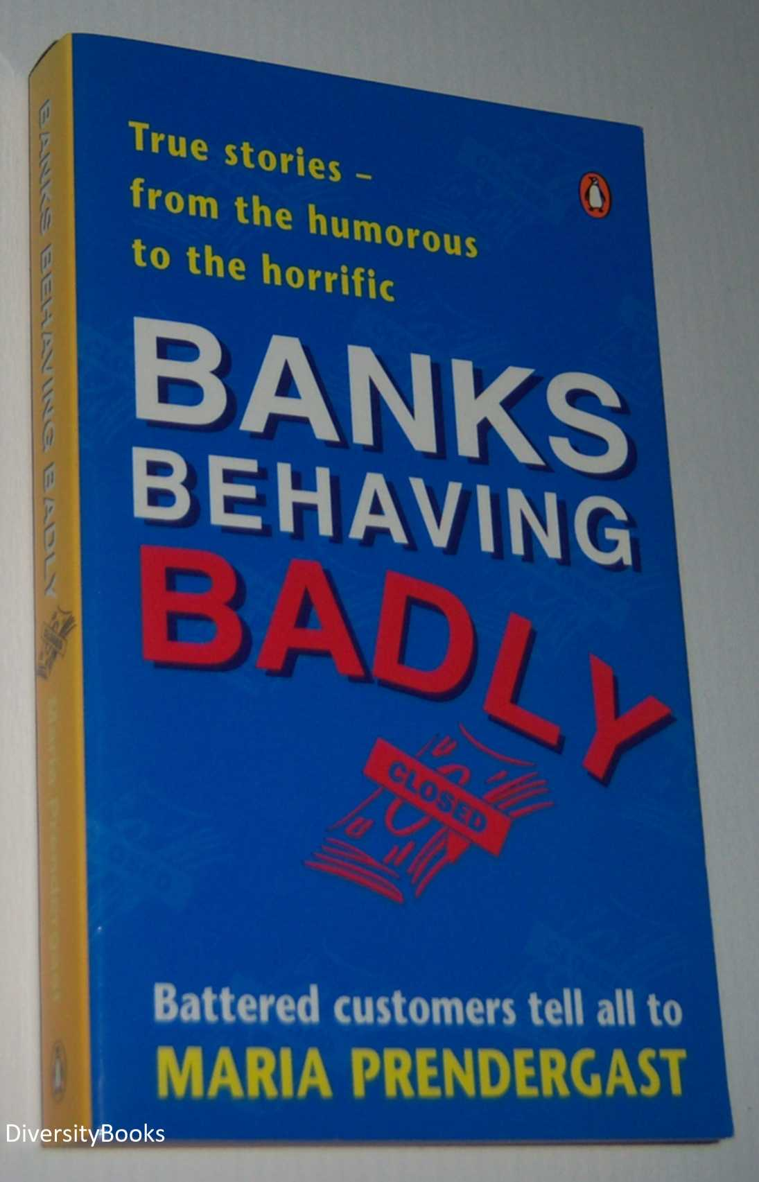 Image for BANKS BEHAVING BADLY